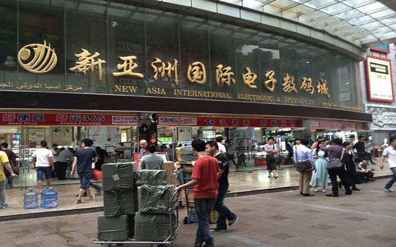Quảng Châu - thủ phủ của hàng hóa tại Trung Quốc.